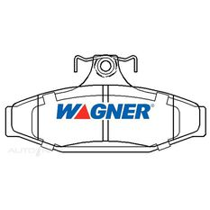 Wagner Brake pad [ Ford 1999-2014 R ], , scaau_hi-res