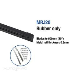 WIPER TRIDON RUBBER 20IN BOXED, , scaau_hi-res
