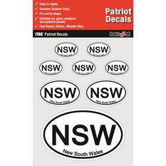 ITAG PATRIOT DECALS SHEET - NEW SOUTH WALES