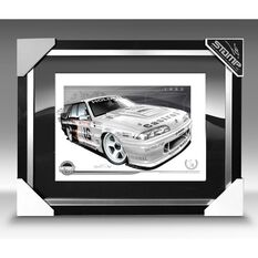 A3 SIZE - 1990 HOLDEN VL COMMODORE SS GROUPE A SV WIN PERCY / ALLAN G (B028), , scaau_hi-res