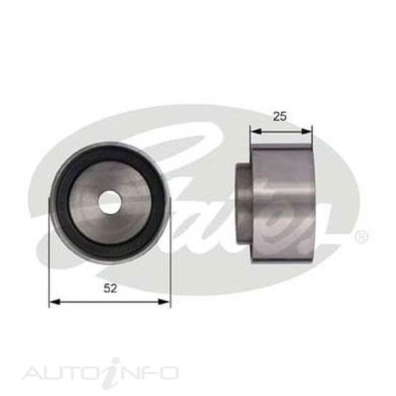 T42005 SBDS IDLER PULLEY, , scaau_hi-res