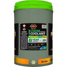 1 X 7 YR GREEN COOLANT PREMIX 20L, , scaau_hi-res