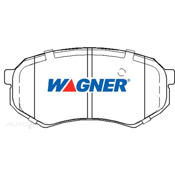Wagner Brake pad [ Toyota 1988-98 F ], , scaau_hi-res