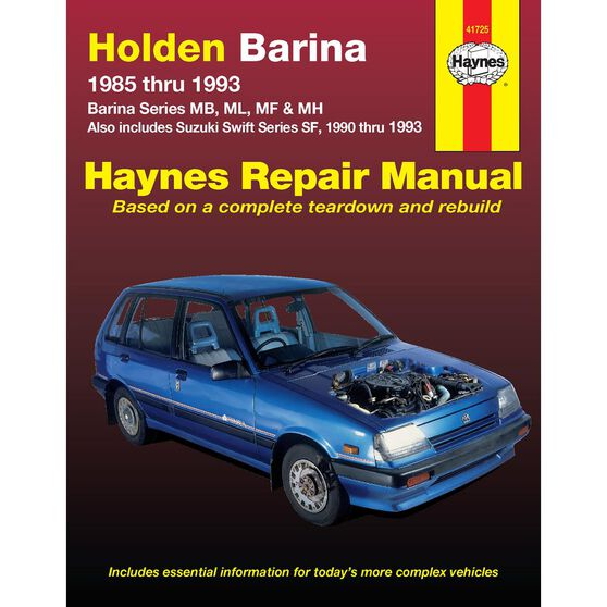 HOLDEN/SUZUKI BARINA  & SWIFT 1985-1993, , scaau_hi-res
