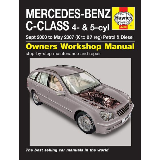 MERCEDES-BENZ C-CLASS PETROL & DIESEL (2000 - 2007), , scaau_hi-res