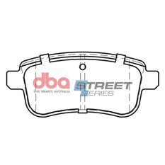 DBA SS STREET SERIES BRAKE PADS [ Renault Megane/CC 2008 - On R ], , scaau_hi-res