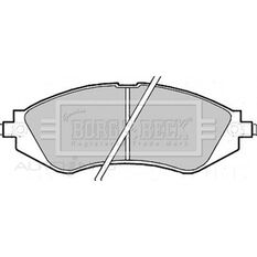 CHEVROLET EPICA 04/08-12/10 FRONT BRAKE PADS, , scaau_hi-res