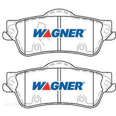 Wagner Brake pad [ Chev & Holden 2006-2014 R ], , scaau_hi-res