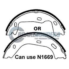 Brake Shoes - Holden Parking Brake 160mm, , scaau_hi-res