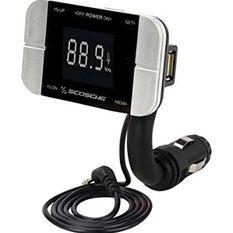 TUNE/IT- DIGITAL FM TRANSMITTER FOR IPOD WITH BACK LIT DISPLAY AND FLEX NECK, , scaau_hi-res