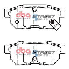 DBA SS STREET SERIES BRAKE PADS [ Honda & Isuzu 1986-2014 R ], , scaau_hi-res