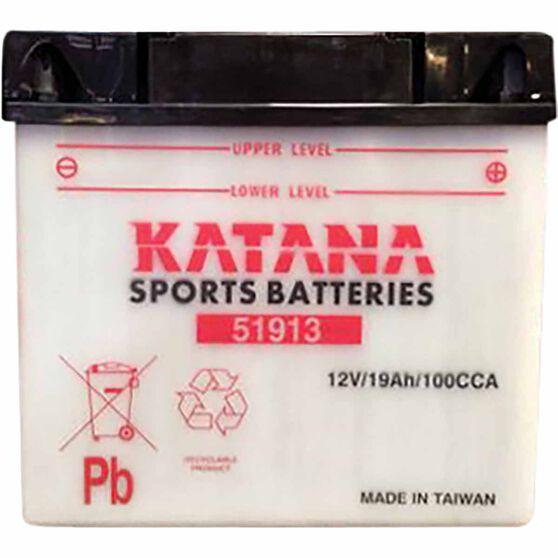 KATANA MOTORCYCLE BATTERY - 51913, , scaau_hi-res