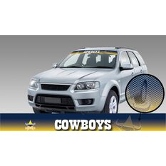 COWBOYS  ITAG SEE-THRU SUN VISOR - RADIANT DESIGN