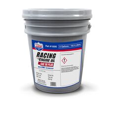 SAE 50 PLUS RACING MOTOR OIL / 1X1 / 5 GALLON PAIL
