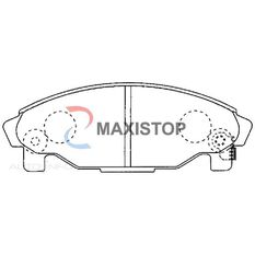 MAXISTOP DBP (F) CHARADE G200, G203, PYZAR 1.5L 5DR