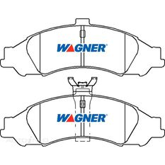 Wagner Brake pad [ Holden 1997-2014 F ], , scaau_hi-res