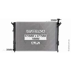 ADRAD RADIATOR ASSEMBLY
