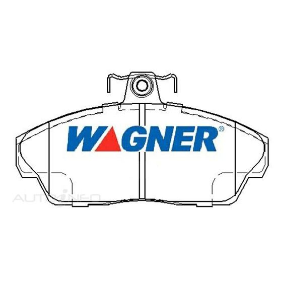 Wagner Brake pad [ Landrover Freelander 4WD 1998-2002 F ], , scaau_hi-res