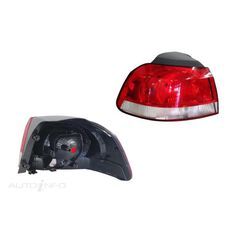 VOLKSWAGEN GOLF  TYPE 6  10/2008 ~ 03/2013  TAIL LIGHT  LEFT HAND SIDE, , scaau_hi-res