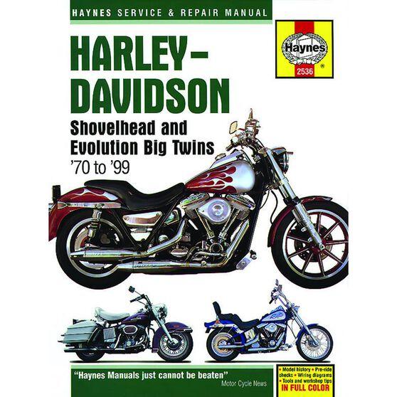 HARLEY-DAVIDSON SHOVELHEAD AND EVOLUTION BIG TWINS 1970 - 1999, , scaau_hi-res