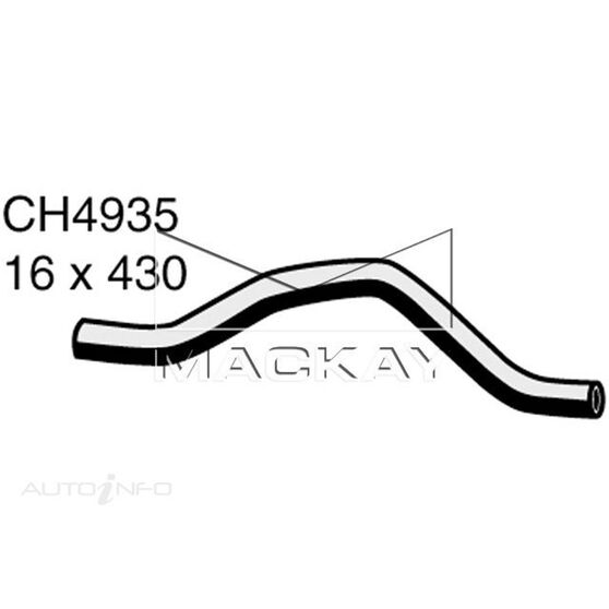 Heater Hose  - MITSUBISHI OUTLANDER ZF - 2.4L I4  PETROL - Manual & Auto, , scaau_hi-res