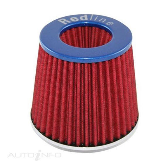 A/FILTER CONICAL TYPE BLUE 76MM NECK, , scaau_hi-res