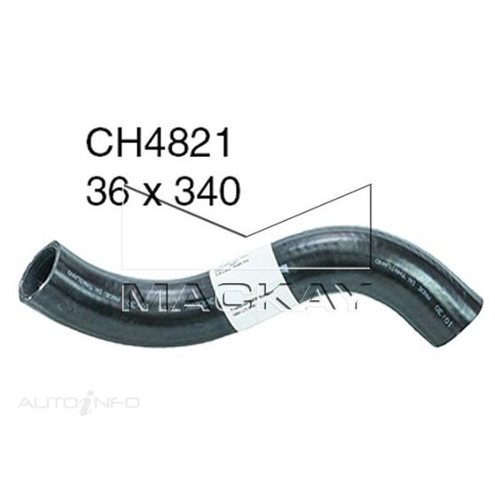 Radiator Lower Hose  - TOYOTA HILUX KUN26R - 3.0L I4 Turbo DIESEL - Manual & Auto, , scaau_hi-res