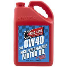 REDLINE MOTOR OIL  0W40 1 GALLON