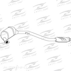 SUBARU FORESTER LIBERTY EJ20 2.0L 03 -12/05 CAT, , scaau_hi-res