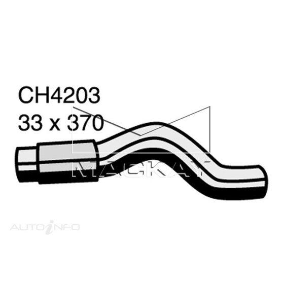 Radiator Upper Hose  - TOYOTA TARAGO ACR30R - 2.4L I4  PETROL - Manual & Auto, , scaau_hi-res