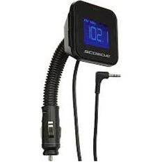 TUNE/IT- DIGITAL FM TRANSMITTER FOR IPOD WITH BACK LIT DISPLAY AND FLEX NECK