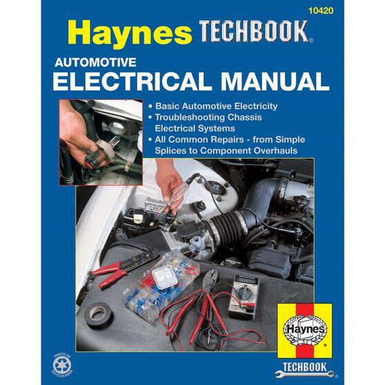 AUTOMOTIVE ELECTRICAL HAYNES TECHBOOK, , scaau_hi-res