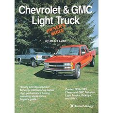 OWNBIBLE  CHEVROLET & GMC LIGHT TRUCK   9780837601571, , scaau_hi-res