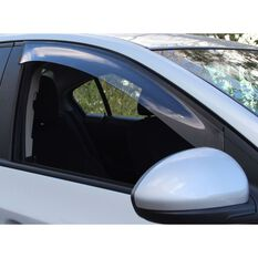 WEATHERSHIELD FRONT SLIMLINE SMOKE TINT DRIVER SUITS TOYOTA HILUX, , scaau_hi-res