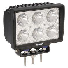 6X10W LED WORKLAMP RECT W-FLD, , scaau_hi-res