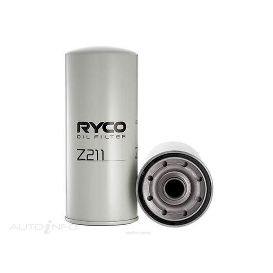 RYCO OIL FILTER - Z211, , scaau_hi-res