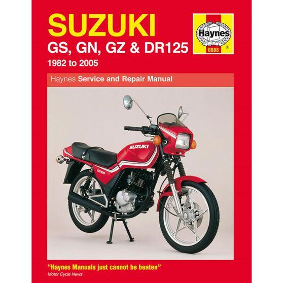 SUZUKI GS, GN, GZ & DR125 SINGLES 1982 - 2005, , scaau_hi-res