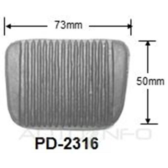 29813 TOYOTA PEDAL PAD - MTM, , scaau_hi-res