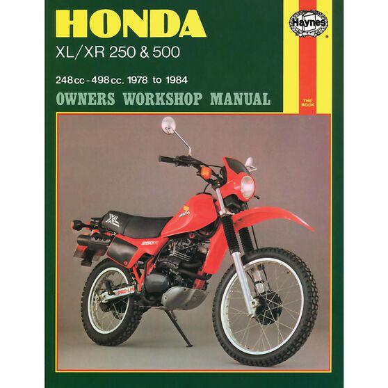HONDA XL/XR 250 & 500 1978 - 1984, , scaau_hi-res