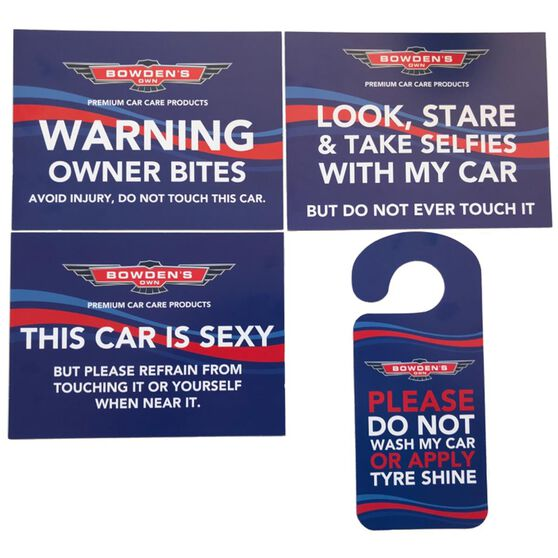 Don't Touch Sign Pack, , scaau_hi-res