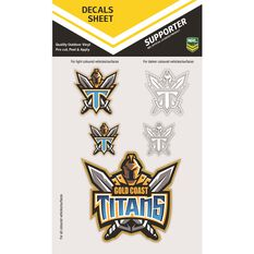 TITANS ITAG DECALS SHEET (CLEAR VINYL)
