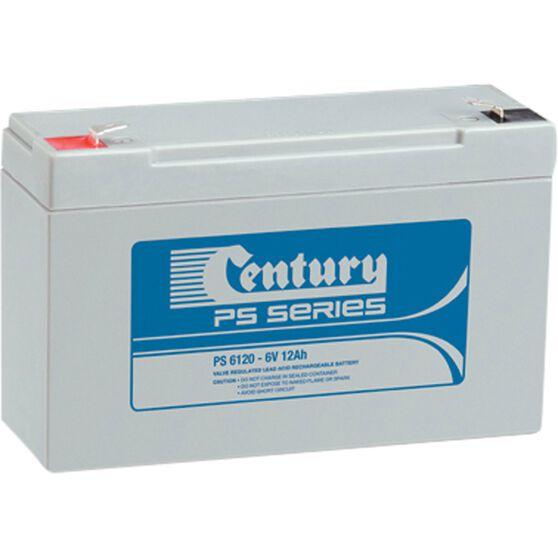 CENTURY VRLA BATTERY - PS6120W (6V, 12AH), , scaau_hi-res