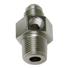 """MALE 3/8""""NPT TO -6AN 1/8"""" PORT, , scaau_hi-res"""