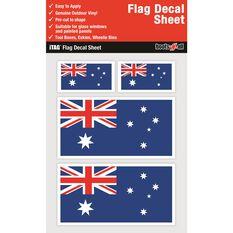 AUSTRALIA FLAG DECALS SHEET