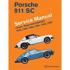 SERVMAN  PORSCHE 911 SC (COUPE  TARGA&CABRIOLET) 1978-1983 9780837602905