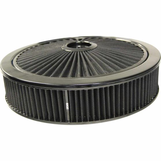Xtra Flow Filter All Black 14 x 3 Recessed Base, , scaau_hi-res