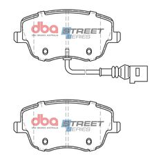 DBA SS STREET SERIES BRAKE PADS [ Skoda/Seat/Volkswagon 2001 - 2014 F ], , scaau_hi-res