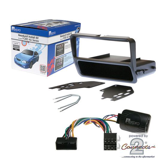 INSTALL KIT TO SUIT FORD FALCON AU SERIES II & III (BLACK), , scaau_hi-res