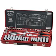 "SOCKET SET 3/8"" DRIVE MET/AF 43PC, , scaau_hi-res"
