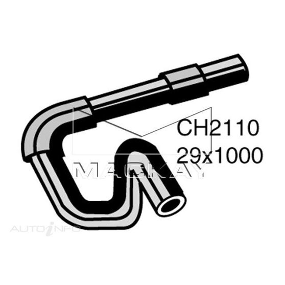 Radiator Lower Hose  - DAIHATSU CHARADE . - 1.3L I4  PETROL - Manual & Auto, , scaau_hi-res